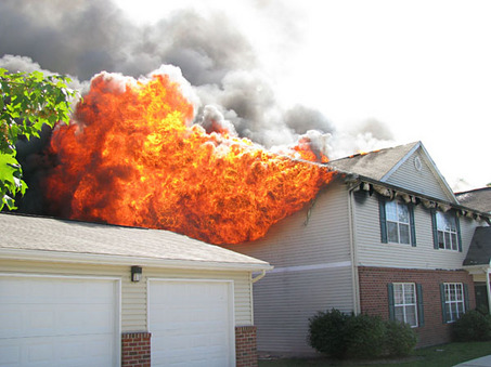 Fires in Lightweight Constructed Buildings