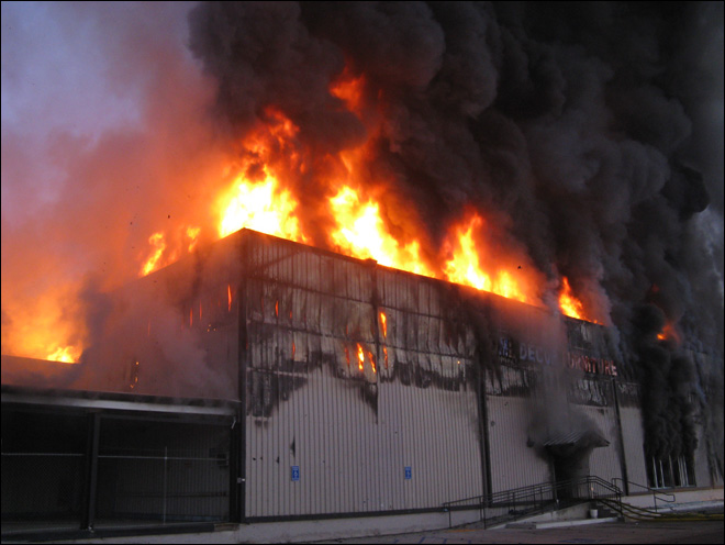 Big Box Store Fires/Strategy and Tactics