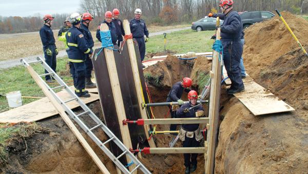 Technician Level Trench Rescue Training program