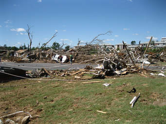 Search and Rescue in Tornado Stricken Areas