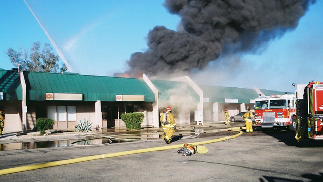 Strip Mall Fires