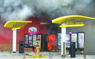 Fast Food Restaurant Fires
