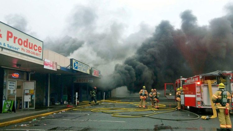 Strip Mall Fires  ON-LINE